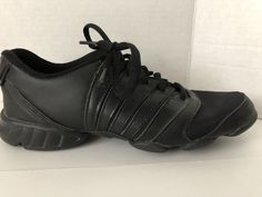 9607708f7ca Bloch Dance Sneakers Womens Size 7.5 M Black Jazz Shoes 7 1 2 M Trinity  S0514