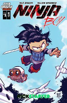 Alé Garza is raising funds for Ninja Boy Life after Death on Kickstarter! Nakio, and Sake, in Ninja Boy Life after Death! Comic Book Artists, Comic Books Art, Comic Art, Disney Illustration, Creative Illustration, Cartoon Styles, Cartoon Art, Deadpool Chibi, Hobbit