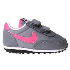 332b24be7ee9e NIKE Elite Trainer Infant - Cool Grey   Pink. The Nike Elite Infant Girls  Trainer