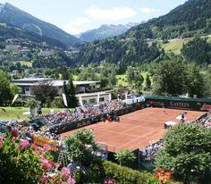 Tennis in Bad Gastein, Austria. Bad Gastein, 5 Star Hotels, Austria, Html, Dolores Park, Tennis, Mansions, House Styles, Travel