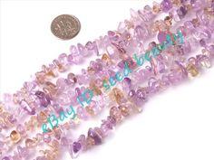 9 10mm Ametrine Chips Gemstone Beads Strand 15   eBay $4.00 + $1.20
