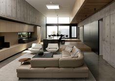 Дом из дерева и бетона в Хьюстоне — HQROOM