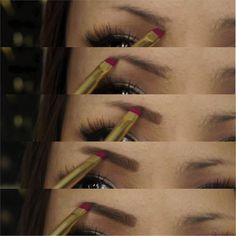 Makeup Tutorials - How To Do Your Own Eyebrows   Step By Step Easy Tutorial On How To Create A Perfect Eyebrow By Makeup Tutorials  http://makeuptutorials.com/makeup-tutorials-how-to-do-your-own-eyebrows/