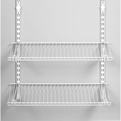 Rubbermaid Homefree Series 4 Ft Adjustable Mount Wire Shelving Kits   Iu0027m  Thinking