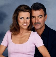 """Victor Newman & shorttime wife, Diane Jenkins -  CBS soap """"The Young & The Restless"""""""