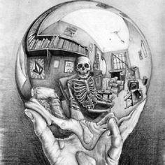 gif art trippy drugs lsd acid psychedelic hand amazing skeleton flashing illusion Joshuashake acid trip disorienting