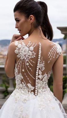 Wedding Dress by Milla Nova White Desire 2017 Bridal Collection - Lea