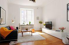 Cheerful Gothenburg Apartment Decorated