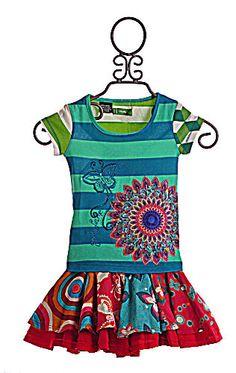 Desigual Girls Skirt and Top in Multi Print Desigual $92.00