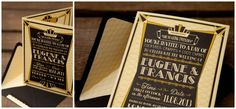 A Great Gatsby, 1920s Art Deco Invitation » Truly Madly Dottie Blog