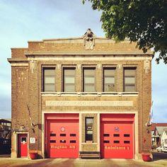 Chicago Fire Department, Fire Dept, Ambulance, Fire Apparatus, Firefighting, Carriage House, Garages, Fire Trucks, Ems