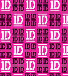 One Direction Checkered Logo Flannel