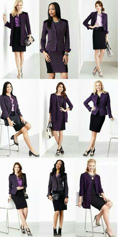 New Mary Kay Directors Suit 2015 - I'm aiming to wear purple this year!