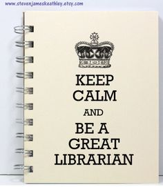 Not just a librarian, a GREAT librarian.