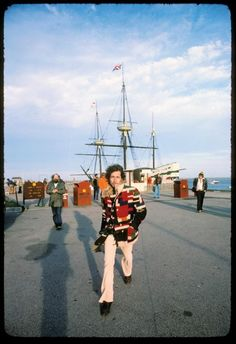 Bob Dylan and Allen Ginsberg 1975