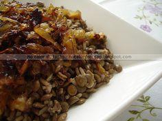 No calor do fogão: Arroz 7 grãos com lentilha