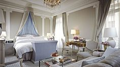 "In the heart of midtown Manhattan, the St. Regis New York's ""Awaken at St. Regis"" package includes full breakfast for two adults on Saturday morning. http://www.fivestaralliance.com/luxury-hotels/new-york-ny/the-st-regis-new-york"