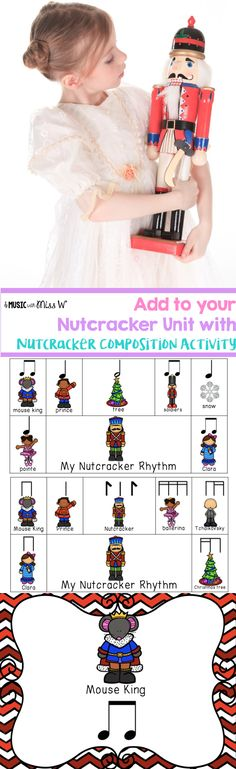 During my nutcracker unit, my students loved creating their own nutcracker rhythms. Loved that there were two levels of difficulty so I could use for more than one grade. I had them record with the iPad video app and email me saying their rhythms. It allowed me to assess students on rhythm reading.