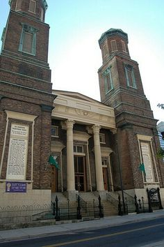 Victorian Egyptian Revival Downtown Presbyterian Church In Nashville Tennessee