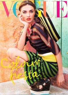 vivid in Vogue.