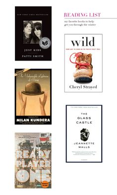 A Reading List to help get you through winter #blizzard2015