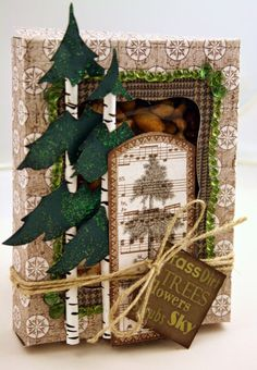 Chattering Robin's: A Window Gift Box for a Man in your Life