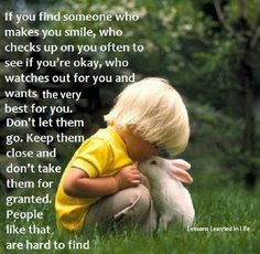 If you find someone...