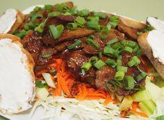 Vegan Bahn-Mi Salad (with Seitan) from the cookbook Quick-Fix Vegan