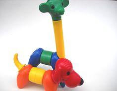 Vintage Tupperware Animal Toys Zoo it Yourself by La Usurpadora Gonzalez Childhood Toys, Childhood Memories, Vintage Tupperware, Baby Supplies, Electronic Toys, I Remember When, Ol Days, The Good Old Days, Vintage Toys