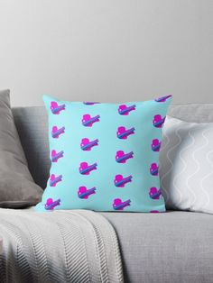 'Jinx' Throw Pillow by pastelmeeti Floor Pillows, Throw Pillows, Print Store, Are You Happy, Spiral, Videogames, Legends, Stationery, Iphone Cases