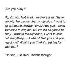 Depression, deep, cut