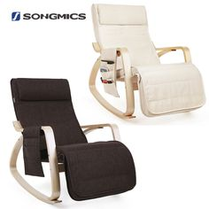 Armchair Rocking Chair Relaxing Chair Lounge Chair Recliner with Side Pocket   Home, Furniture & DIY, Furniture, Chairs   eBay!