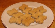 Biscuits for Dogs 2 Ingredients, Dog Treats, Gingerbread Cookies, Dog Cat, Cooking, Dogs, Journal, Room, Dog Biscuit Recipes