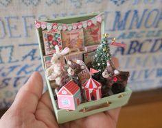 2017.11 Miniature Christmas Trunk By Pansbear