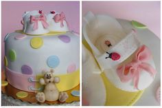 Baby booties cake   For sweet little Kalina Повече инфо за т…   Flickr