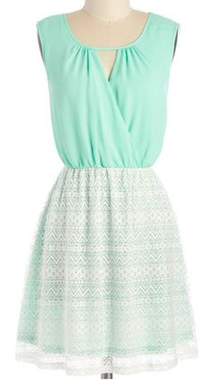 Lace dress in #mint http://rstyle.me/n/j5mrznyg6
