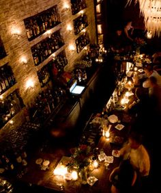 Bourbon and Branch. Speakeasy in San Francisco, CA.