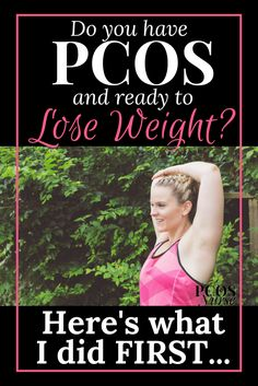 You've been diagnosed with PCOS and are struggling to lose weight? STOP the overwhelming scroll through Pinterest ? Here's what you need to know FIRST if you want to lose weight with PCOS.