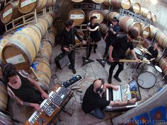 "Puscifer recording the album ""Conditions of My Parole"" at Caduceus Cellars in Jerome, AZ."
