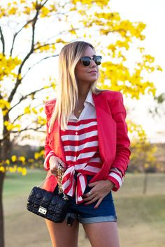 Look do dia – Shorts Jeans de Cintura Alta