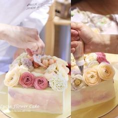 Lucia Butter cream Flower Cake & Class www.luciancake.com Lucia cake in Singapore ! 🇸🇬🤗 1st day of Advanced workshop in Singapore!  This is the demo cake I made during the workshop!  During our 3rd Singapore workshop, we met new students, and also students from our 1st and 2nd batch! I was so glad to meet all of our them.  Very thankful for joining us again ! Let's hard work and make beautiful cakes. 👉🏻Our future workshops contact here space at @butterstudio !  Workshop details 👇🏻…