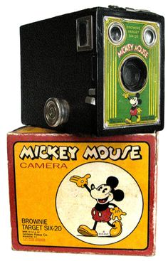 Brownie Target Six-20 Mickey Mouse Version at Historic Camera - History Librarium 1960