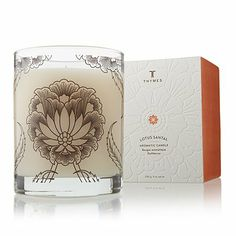 Thymes Lotus Santal Poured Candle - Oz. Natural Body Hand Add it to your wishlist at yourwishfromme.com