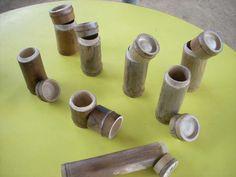 竹制有蓋水杯之一