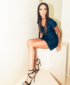 Getting Ready with Joan Smalls - The Coveteur Cool Makeup Looks, The Coveteur, Joan Smalls, Dress And Heels, Parisian, Love Fashion, Supermodels, Dress Skirt, Fashion Photography
