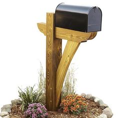 Easy Woodworking Projects Timber-framed Mailbox Woodworking Plan from WOOD Magazine