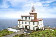 Faro de Fisterra (Galicia). Uno de los faros más bonitos de España.