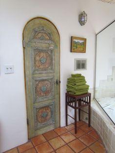 lovely bathroom door!