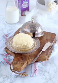Mi Gran Diversión: Como hacer Mantequilla sin lactosa casera