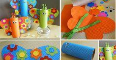 A képen látható színes pillangók elkészítéséhez papírgurigákra, színes dekorációs papírokra és ragasztóra van szükség. A pillangók szemeit ...